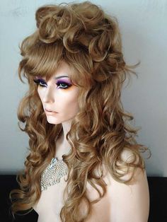 Wig: Julienne Drag Wig, #19: Warm Medium Brown