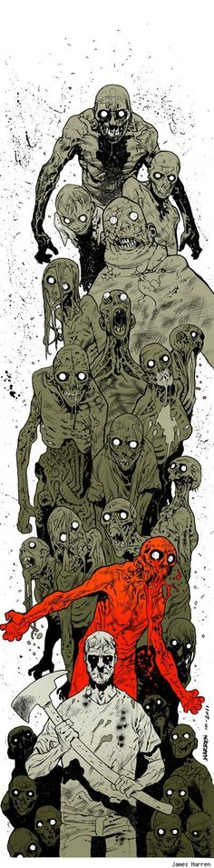 zombies in culture A versatile artist, george pfau has examined the role of zombies in our culture using multiple mediums to recreate the terror and intrigue they inspire.