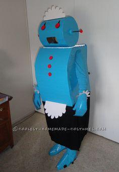 robots, craft, the jetsons, halloween costumes, robot halloween, origin rosi, websit, jetson halloween