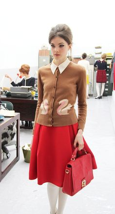 what's your tale, nightingale? - orla kiely ~ a/w 2013