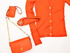 @ToryBurch teams up with Michael J. Fox Foundation. look at all that #orange