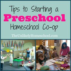 Tips to Starting a Preschool Homeschool Co-op: Planning Age Appropriate Class Topics