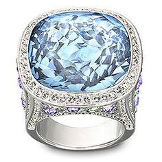 SWAROVSKI Random Aquamarine Ring