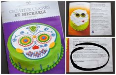 Mommy Maestra: How to decorate your own Day of the Dead Día de los Muertos cake classes