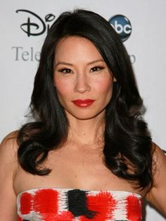 Lucy Liu and gentle waves