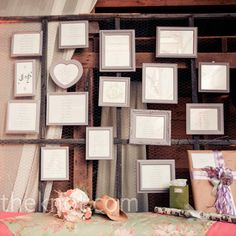 framed #seating charts