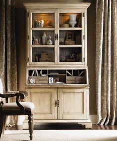 Colette Secretary & Hutch by Lexington Furniture