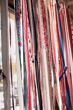Fabric Strip Curtains