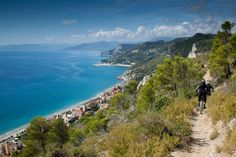 me at Women's DH in Finale Ligure, Italy - photo by rideRB - Pinkbike