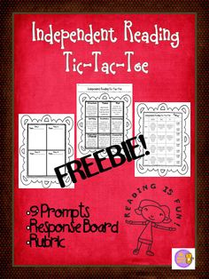 Perfect for independent reading time or homework! 9 choices reviewing core reading concepts with response board and rubric. Freebie!