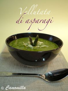 vellutata di asparagi      #recipe #juliesoissons