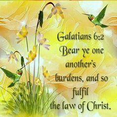 galatian 62, share god, bibl vers