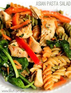 Yummy Asian Pasta Salad