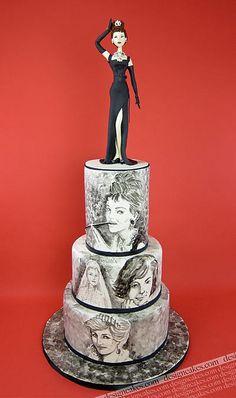Hollywood Glamour celebration cake by Design Cakes, via Flickr