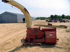 Gehl 1200 harvester salvaged for used parts. Call 877-530-4430. We buy salvage farm equipment. 7 salvage yards in the Midwest. http://www.TractorPartsASAP.com
