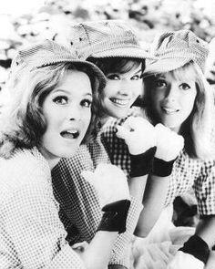 Betty Jo, Bobbie Jo, and Billie Jo from Petticoat Junction