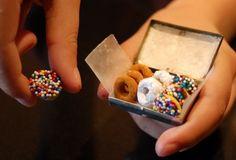 Miniature Doughnuts for Santa's Elves