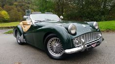 This is my Triumph TR3a that I have owned for 16 years. It is now up for sale and awaiting it's next owner.