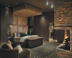 master bedroom wall & ceiling colors?  Dark walls & lighter ceilings or the opposite?
