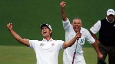 adam scott, win master, champ, sports, golf