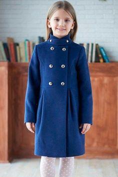 Детское пальто на весну