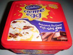 Cadbury cream egg ice cream. Where. Can. I. Buy. This.