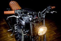 pinterest.com/fra411 #Triumph Bonneville T100 | Macco Motors  based around a 2009 Triumph Bonneville T100