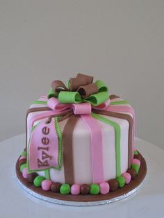 small cake
