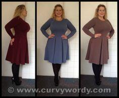 BiuBiu Lukka Dress 40BB/BBB http://www.curvywordy.com/2014/01/biubiu-lukka-dress-40-bbbbb.html