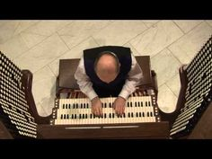 Monte Maxwell playing John Phillip Sousa's Stars and Stripes Forever on the US Naval Academy Chapel organ.