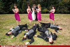 funny wedding photos - No Witnesses
