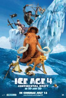 Ice Age 4: Manny, Diego, and Sid embark upon another adventure after their continent is set adrift. Using an iceberg as a ship, they encounter sea creatures and battle pirates as they explore a new world. In theaters July 13th.