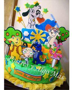 Torta de Doky y sus amigos - Doky and Friend Cake