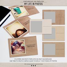 craft, instagram, templates, scrapbook stuff, mini books