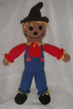 Ravelry: FREE PATTERN = Scarecrow pattern by Erin Scull