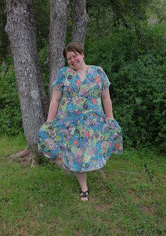 """I love this dress,"