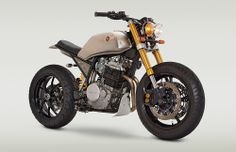 Actress Katee Sackhoff loved her first Classified Moto bike so much, she's just commissioned this new one—a big-bore Honda XR650L.