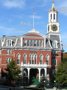 Norwich City Hall,  Norwich,  CT - I worked many years in Norwich;  many good times;  many great friends;  what a blessed girl I am :)  Miss It!