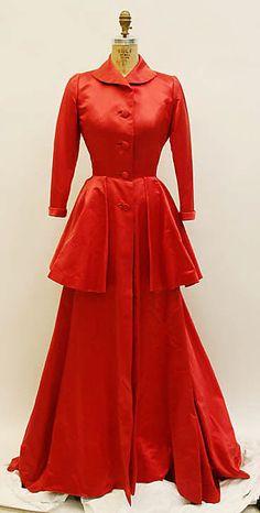 Housecoat - Mainbocher 1950's