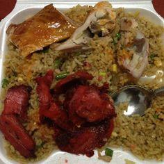 Chinese food, Guyanese style.