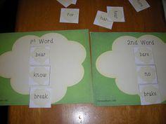 creativ readinglanguag, word famili, word sorts, school stuff, readinglanguag art, art product, teach idea, sight word, 2nd grade