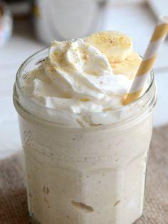 Boozy Banana Cream Pie Milkshakes