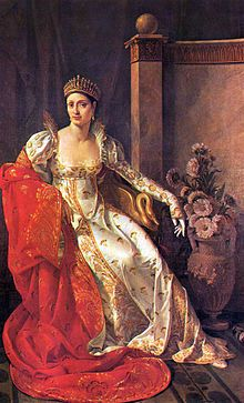 Maria Anna Elisa Bonaparte Baciocchi Levoy, Princesse Française, Duchess of Lucca and Princess of Piombino, Grand Duchess of Tuscany, Countess of Compignano, was a younger sister of Napoleon Bonaparte.  As Princess of Piombino and Lucca, then Grand Duchess of Tuscany, she became his only sister to possess political power. Highly interested in the arts, particularly the theatre, she encouraged them in the territories over which she ruled.