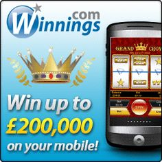 New play #Winnings On your Mobile and get £5 Free no deposit bonus!