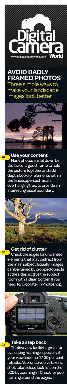 Landscape photo composition: free photography cheat sheet