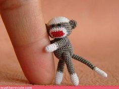 Sock mini Monkey