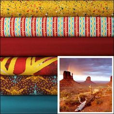 Monument Valley - available soon at Marmalade Fabrics