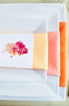 Color Trend: Ombré Wedding Ideas