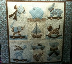 by Jessica's Quilting Studio, via Flickr  Cute Boy Quilt