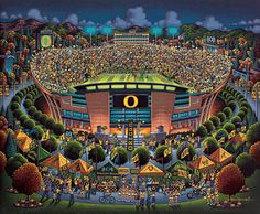 University of Oregon Ducks http://www.dowdlefolkart.com/university-of-oregon-ducks